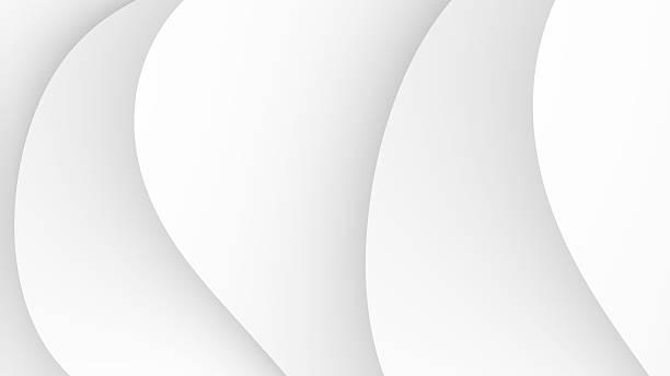 シンプルなホワイトの抽象的な背景 ストックフォト