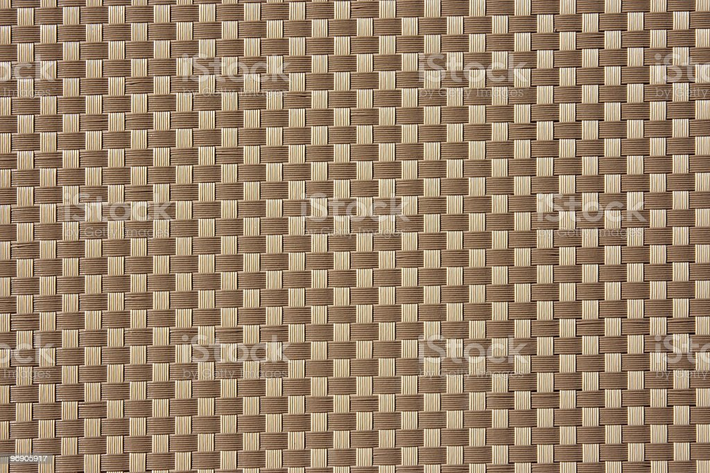 Simplicity wicker texture, background royalty-free stock photo