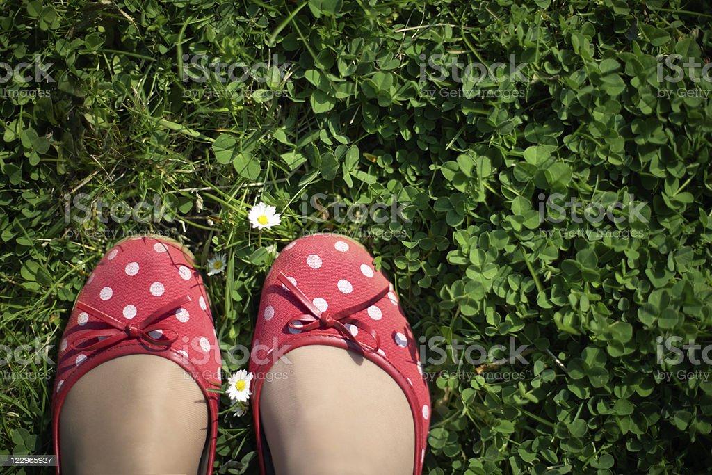Einfach foots - Lizenzfrei Aktivitäten und Sport Stock-Foto