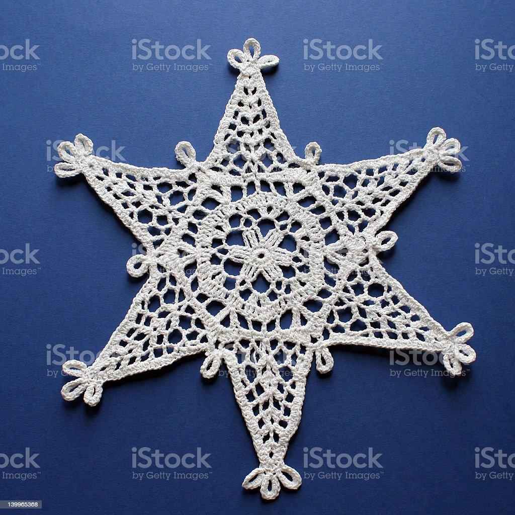 Simply Snowflakes royalty-free stock photo