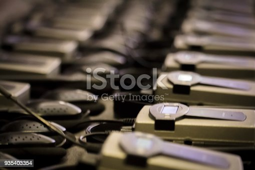 609903512 istock photo Simultaneous translation devices 935403354