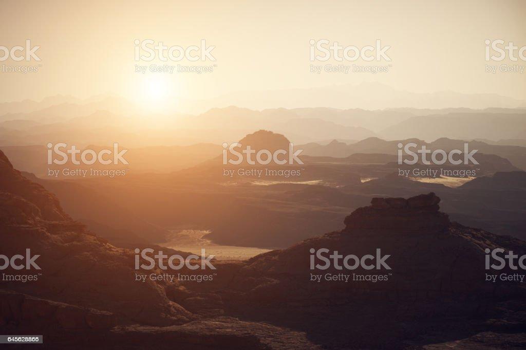 Sinai woestijn foto