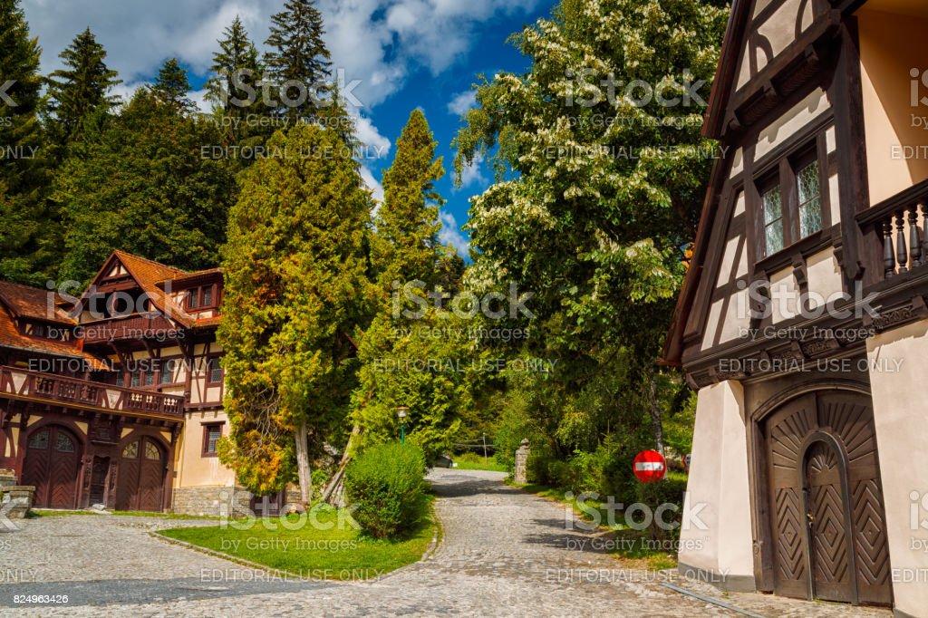 Sinaia, Romania stock photo