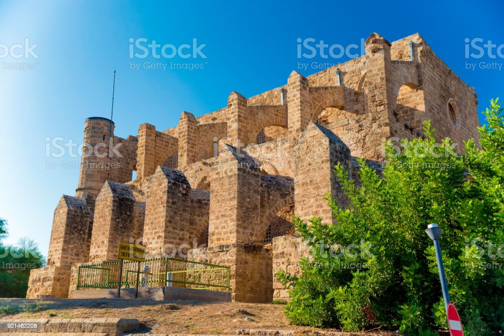Sinan Pasha Mosque, formerly Church of St Peter and Paul. Famagusta, Cyprus stock photo