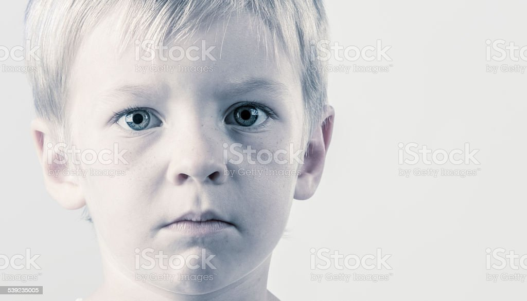 Sincere Child royalty-free stock photo