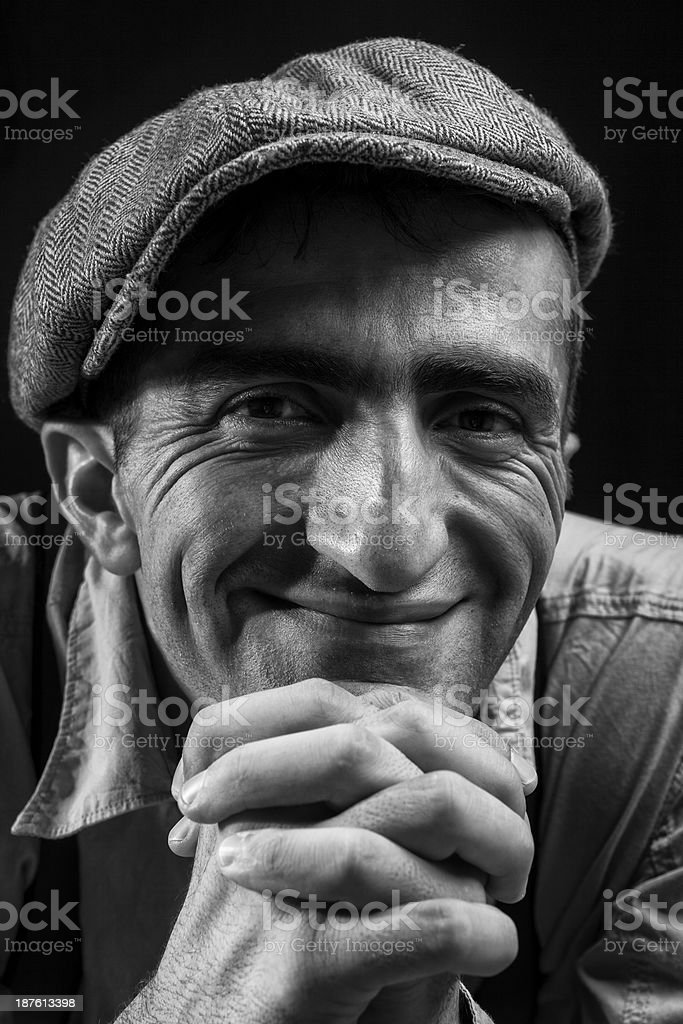 Sincere Smile royalty-free stock photo
