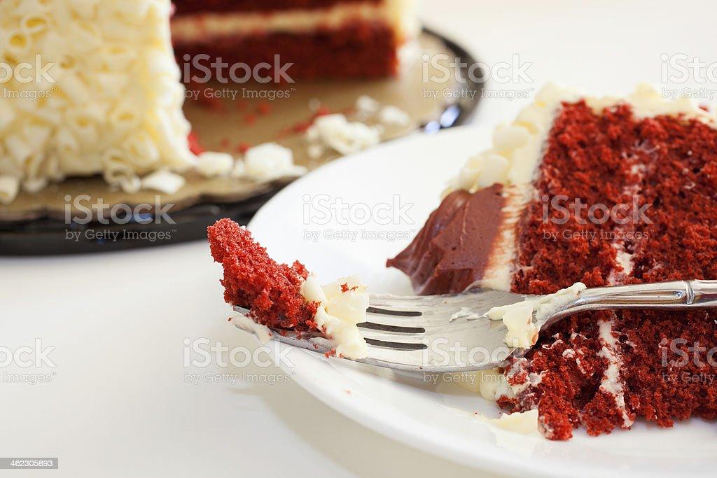 Sinful dessert stock photo