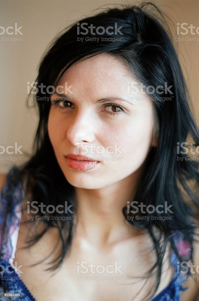 Sinful thoughts royalty-free stock photo