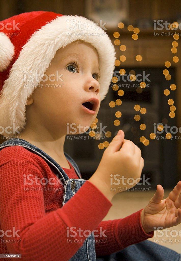 Sing a Christmas Carol royalty-free stock photo