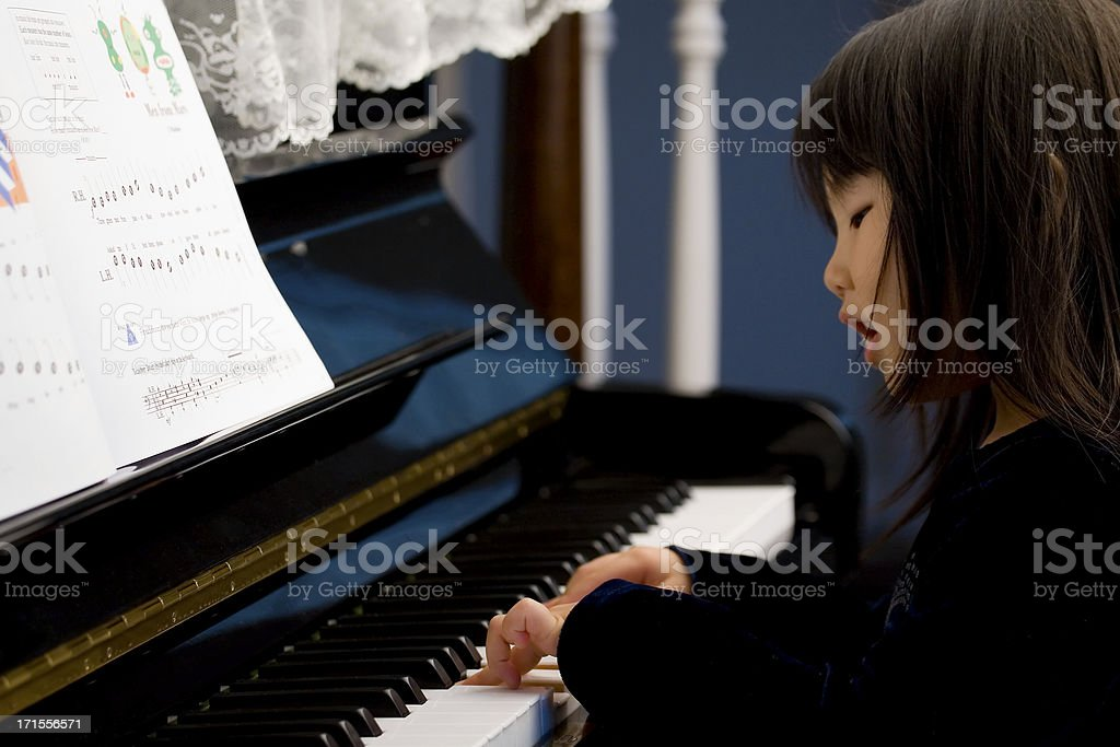 Sing and play royalty-free stock photo