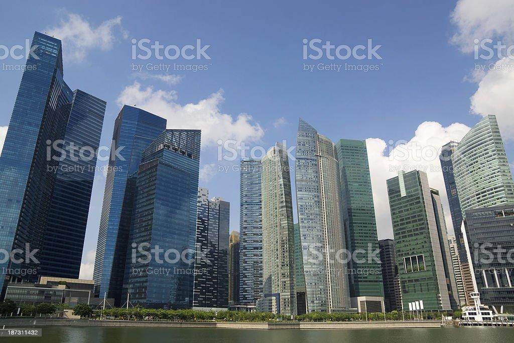 Singapore CBD royalty-free stock photo