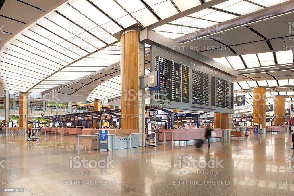Singapore Changi Airport Terminal 2 royalty-free stock photo