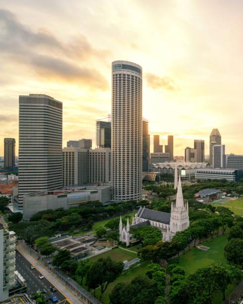 Singapur skyline der Stadt – Foto