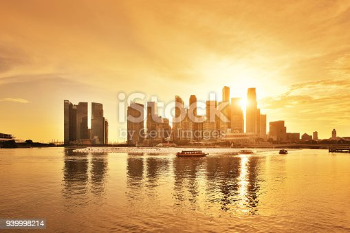 istock Singapore City Skyline 939998214