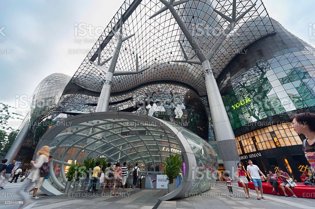 Stadtlandschaft von Singapur – Foto