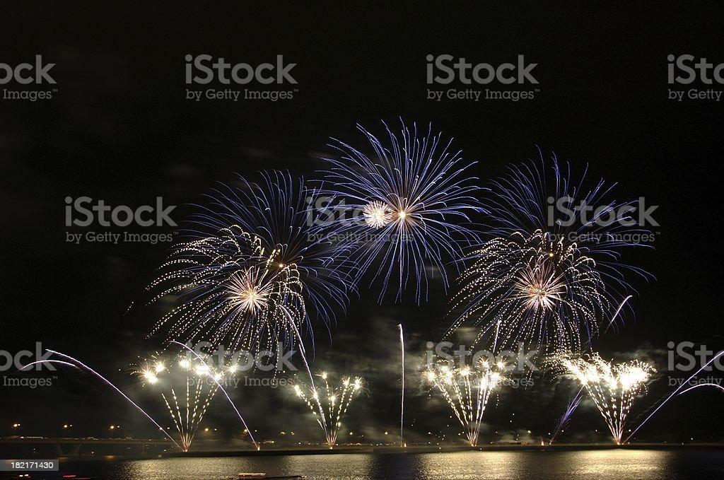 Singapore Firework Festival 2006 stock photo