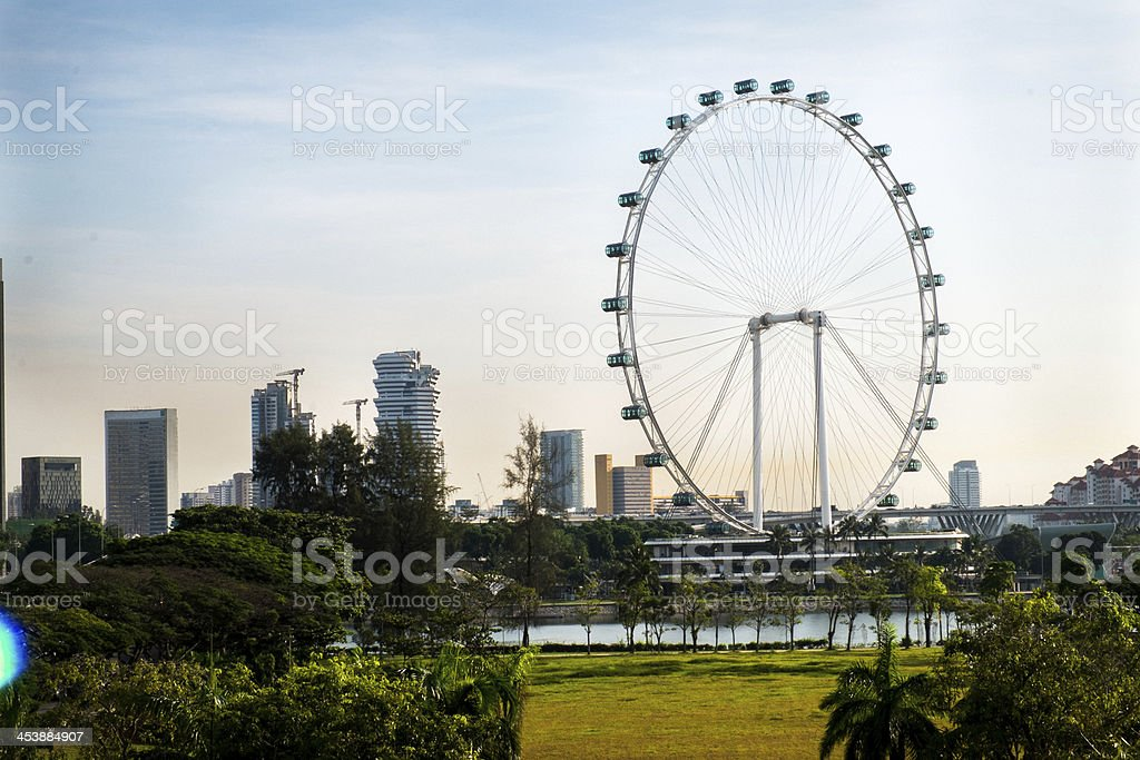 Singapore Flyer royalty-free stock photo