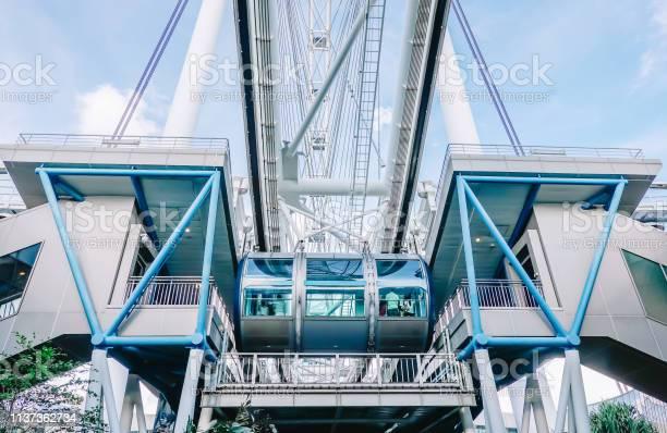 Singapore flyer,ferries wheel,singapore,skyline,free