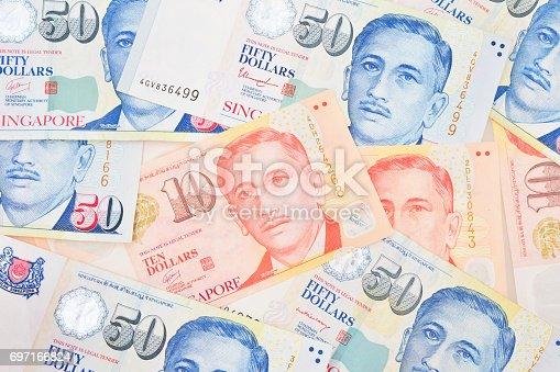 istock Singapore money 697166824