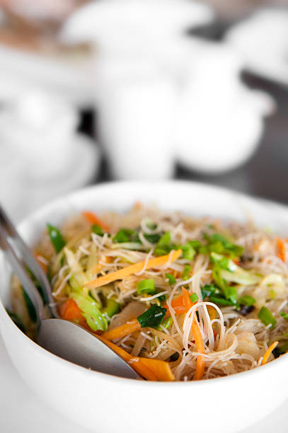 Singapore noodles Singapore fried rice noodles rice noodles stock pictures, royalty-free photos & images