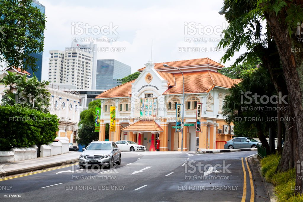 Singapore Philatelic Museum stock photo