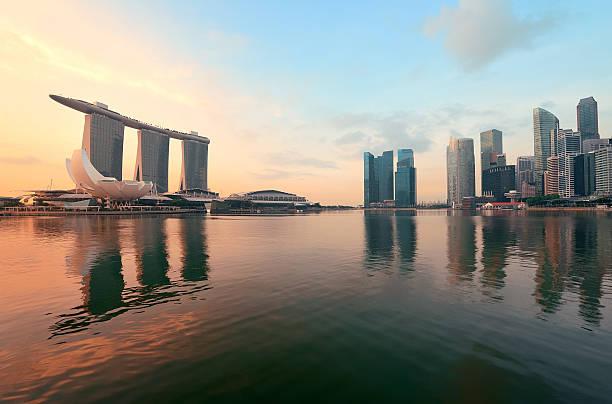Singapur skyline – Foto