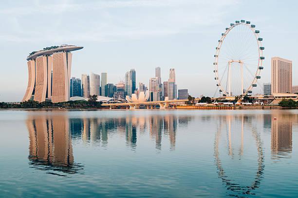 Singapore Skyline. stock photo