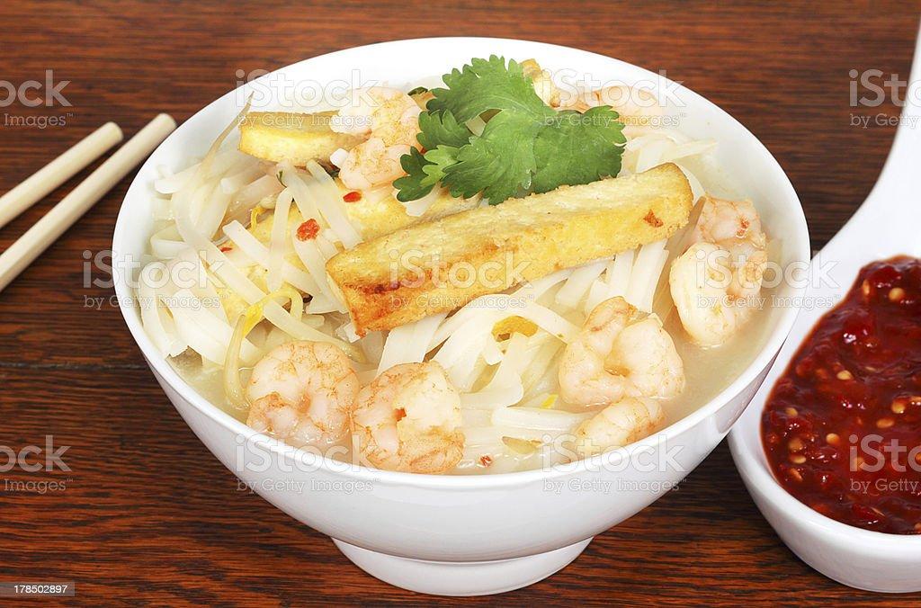 Singapore soup royalty-free stock photo