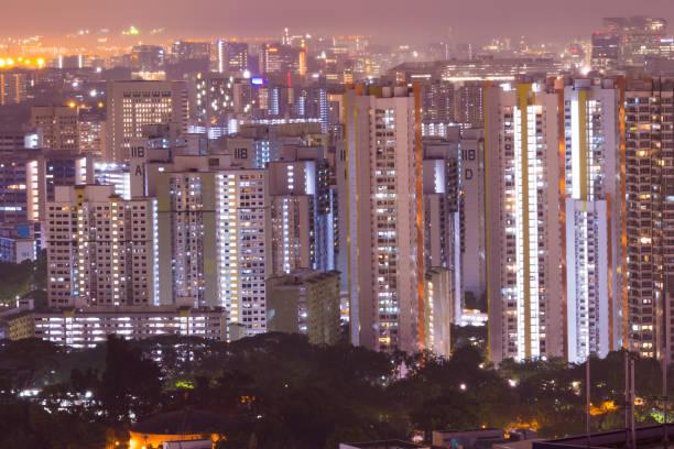 Hochhaus in Singapur – Foto