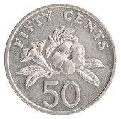 istock Singaporean cent coin 848734952