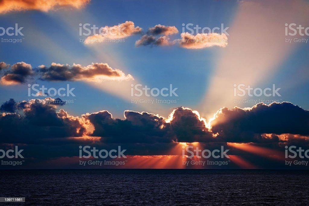 Singer Island Sunrise stock photo