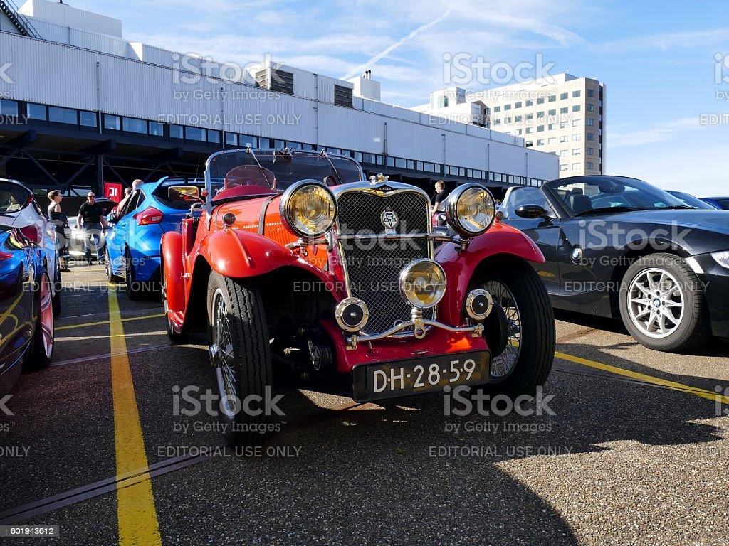 Amsterdam, The Netherlands - September 10, 2016: Singer Le Mans stock photo