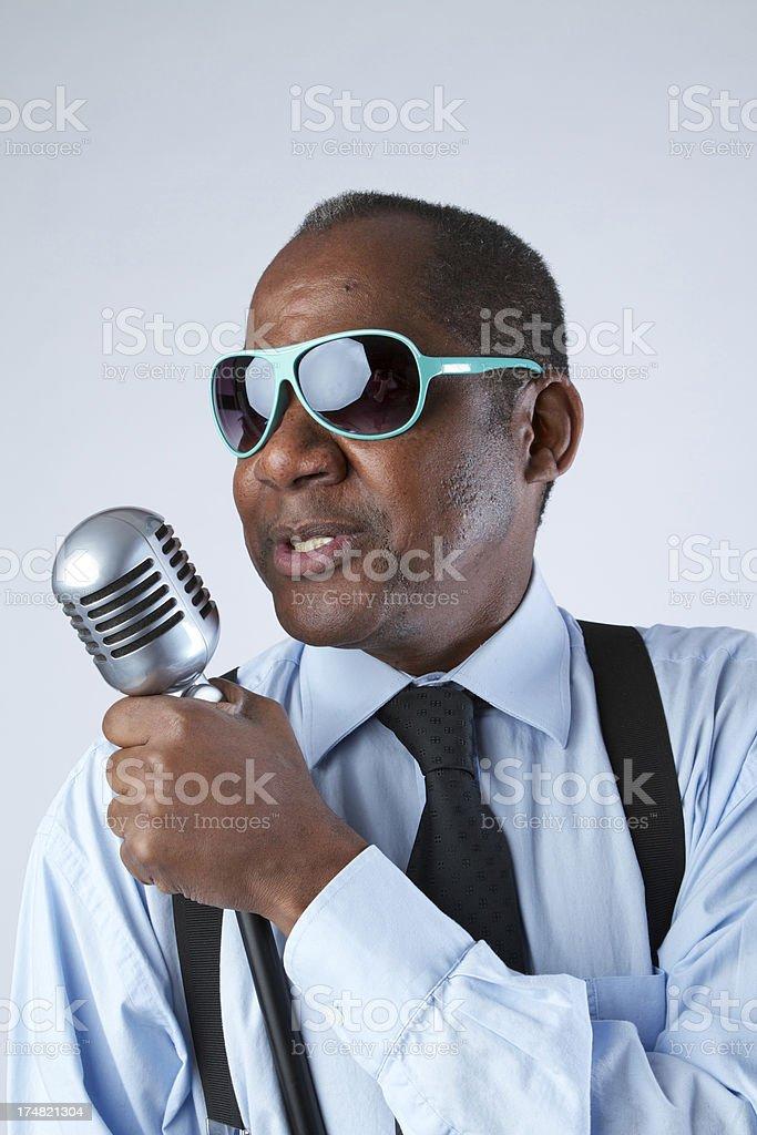 Singer stock photo