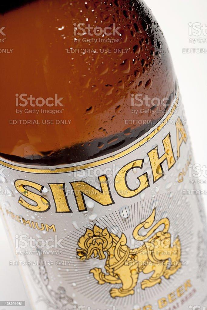 Singha Beer royalty-free stock photo