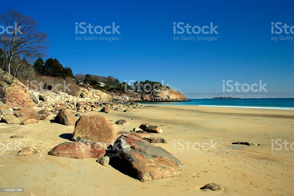 Singing Beach royalty-free stock photo
