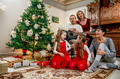 istock Singing Christmas Songs 626057578