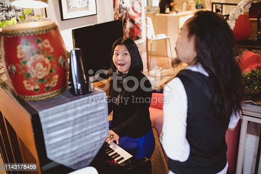 1155122702 istock photo Singing classes with a private teacher 1143178459