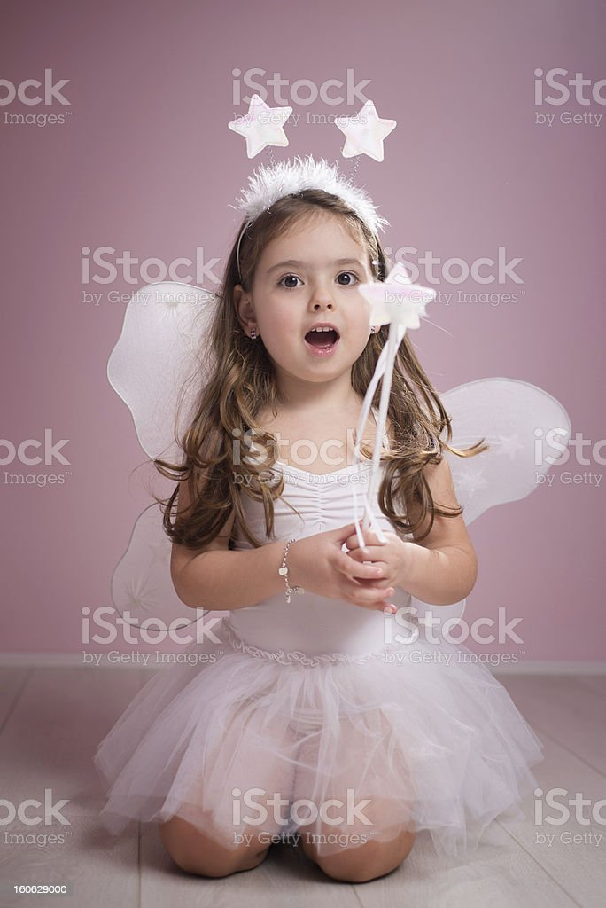 Singing Fairy stock photo