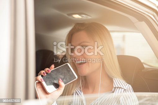 Singing On Road Trip Stock Photo & More Pictures of Adult
