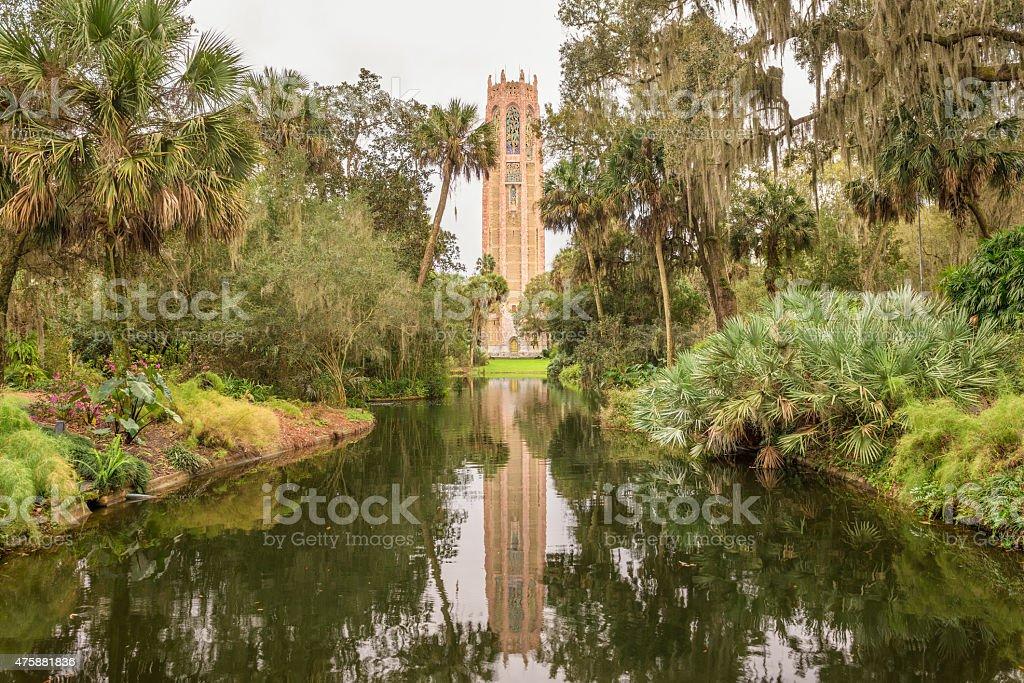 Singing Tower in Lake Wales, Florida stock photo