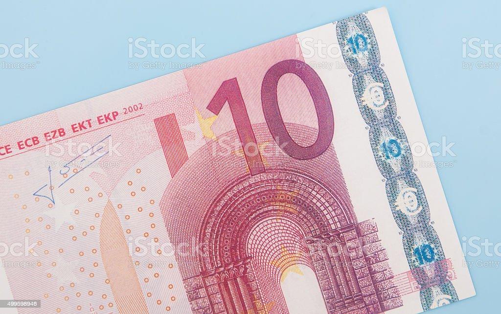 Ein 10-euro-note – Foto