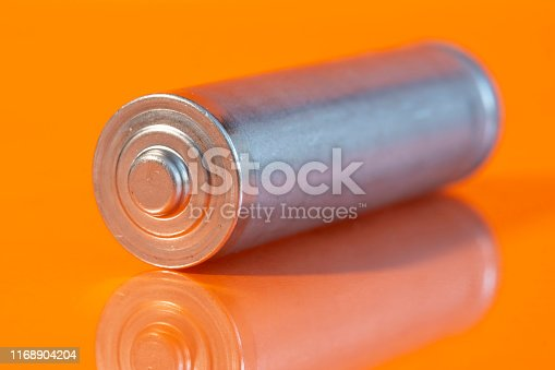 istock Single AA battery 1168904204