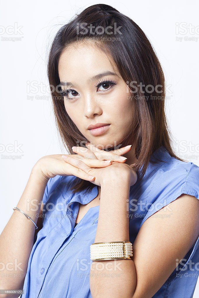 Asian young model