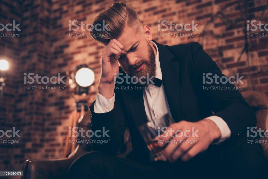 sad single guy