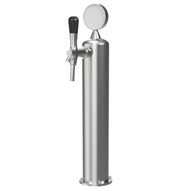 Single beer tap - foto stock