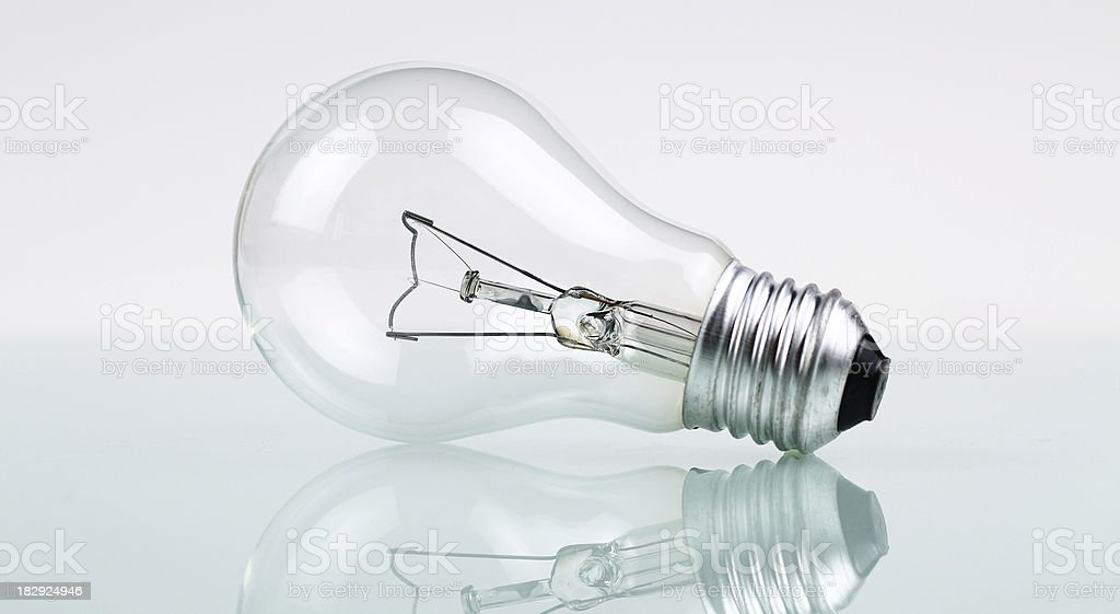 Single Bulb royalty-free stock photo