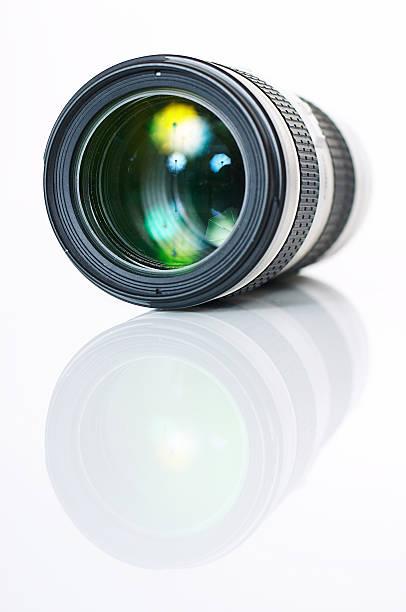 Foto-Kamera mit Objektiv – Foto