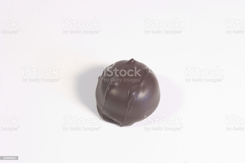 Single Chocolate royalty-free stock photo