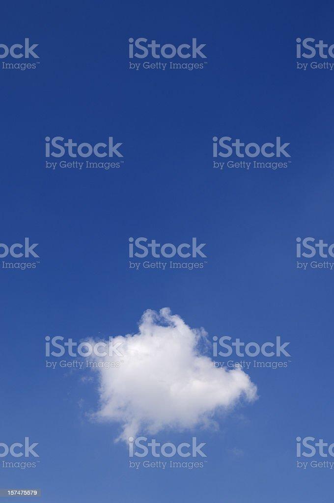 Single Cloud stock photo