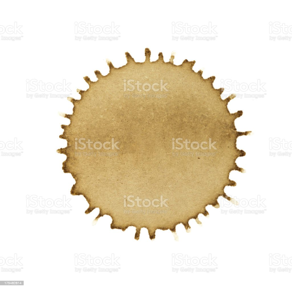 single coffee blob stock photo